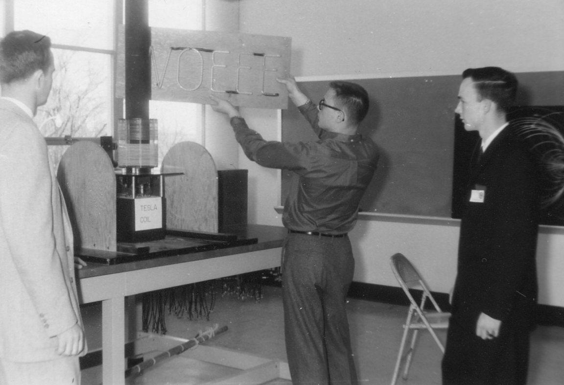 Engineers Day display April 1960 W0EEE