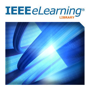IEEE eLearning Library Logo