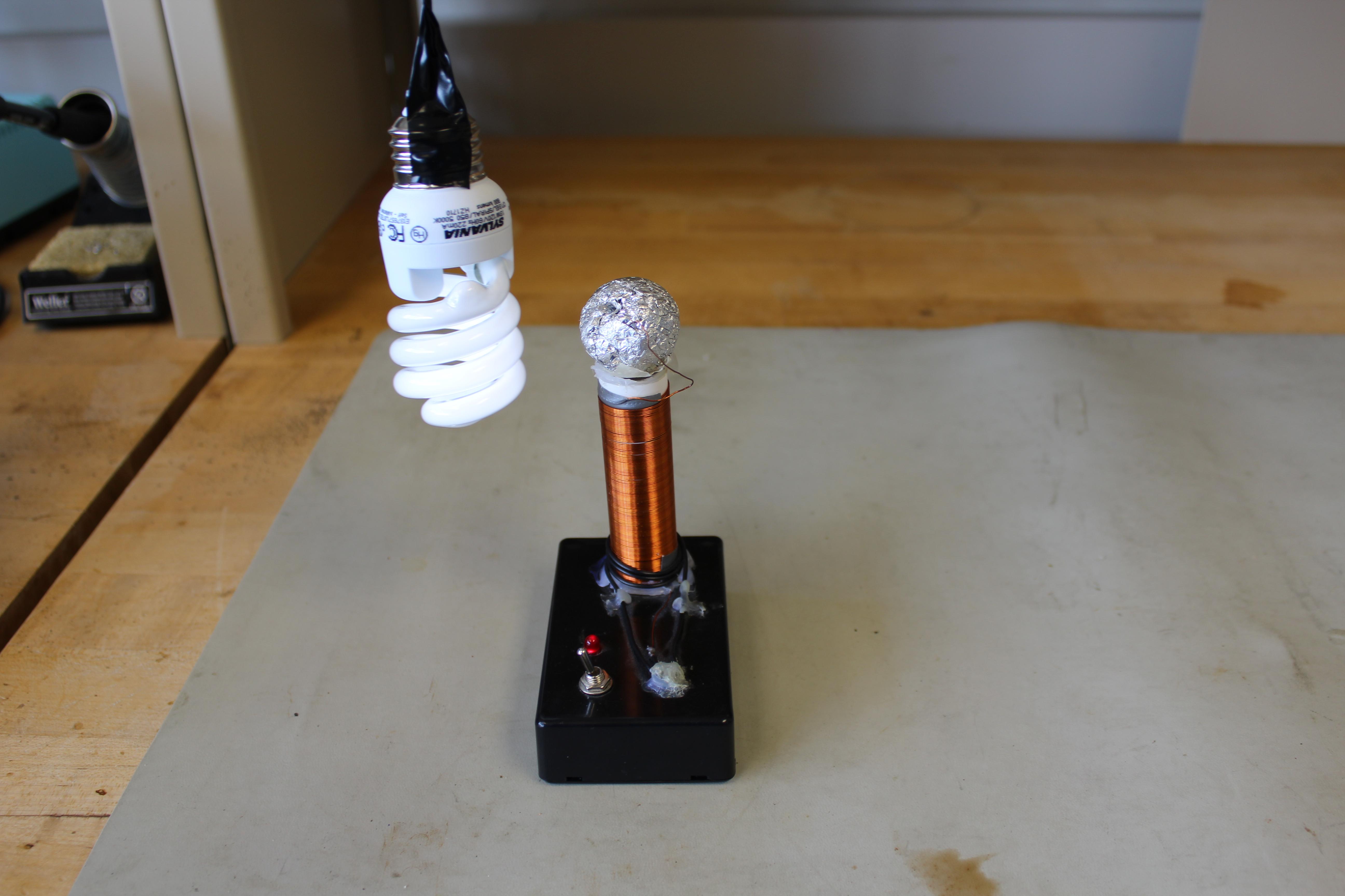 Mini Tesla coil take home project workshop