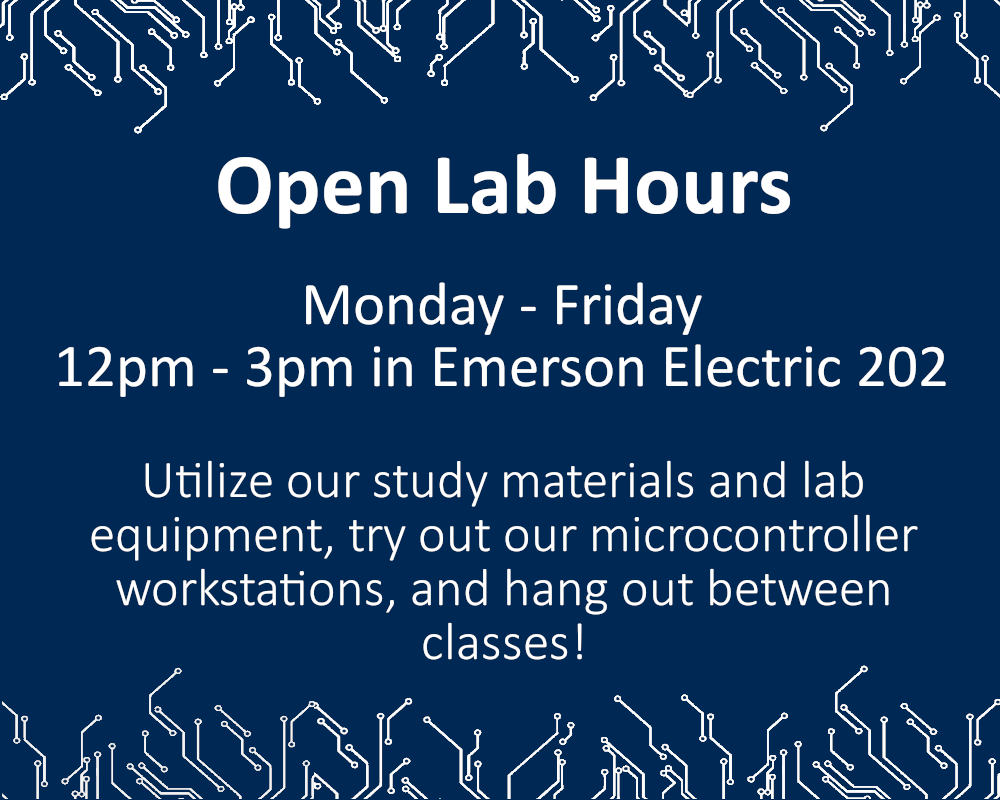 Open Lab Hour Times